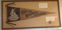 1919 Boca Suffrage banner