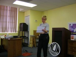 Joan Waitkevicz, then Co-President NPBC NOW 2009