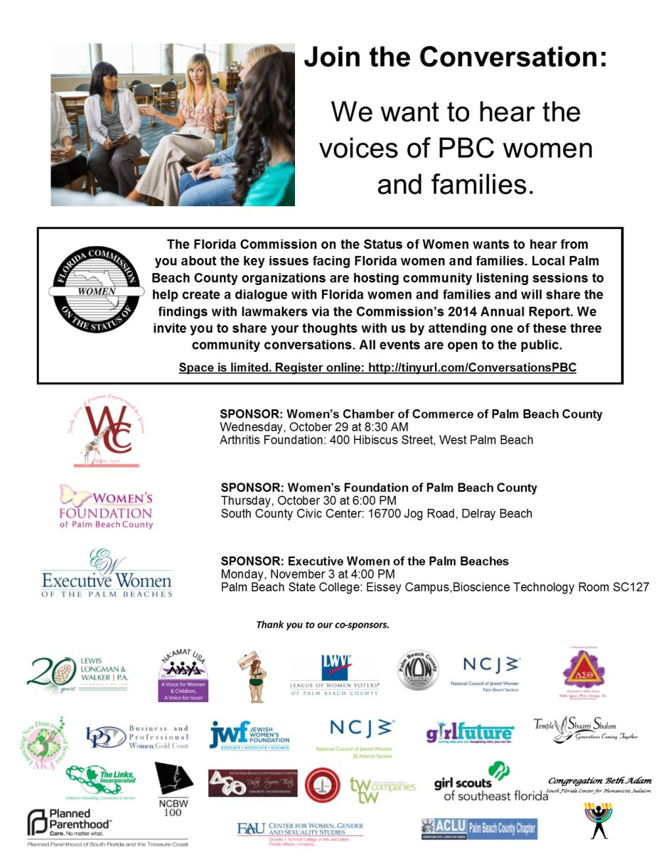 Womens Voices Flyer