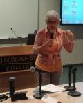 Arlene Ustin at PBCS Shanghai Women's Seminar
