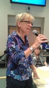 Dr. Joan Waitkevicz at PBCS Shanghai Women's Seminar