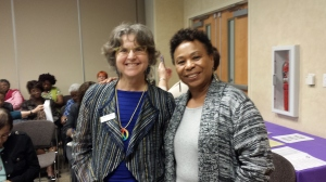 Ann Fonfa and US Rep. Barbara Lee
