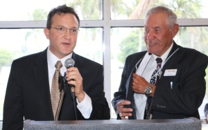 Honored Feminist Rep. Mark Pafford and Board Sec'y Les Rivkin