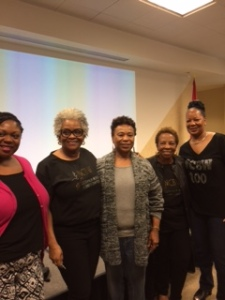 100 Black Women members
