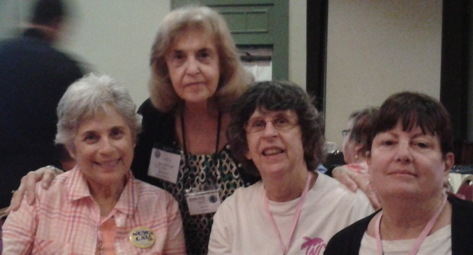 Florida NOW State Conference, with Arlene Ustin, Adele Guadalupe, Natalie Andre and Sheila Jaffe